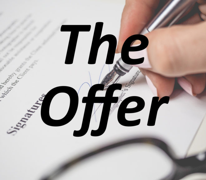 The Offer–Fifty Word Microfiction
