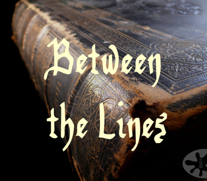 Between the Lines: A Fifty Word Story